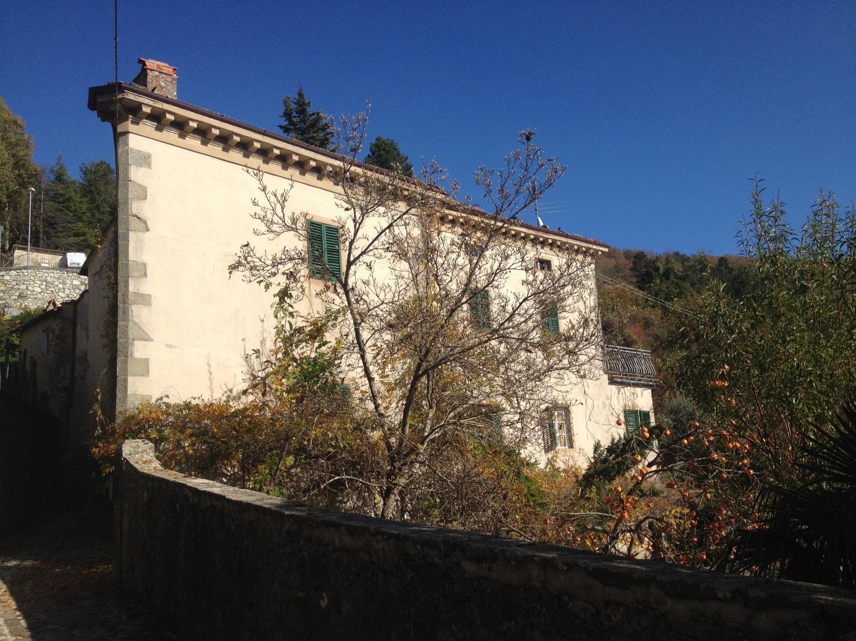 foto Palazzo nobile posto nel paese di Casabasciana, vicino a Bagni di Lucca.