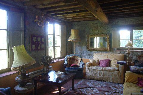 foto Bellissima casa rurale con viste della citadella di Barga, LU.