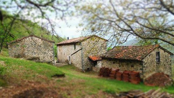foto Casa con metato, capanna e garage nei pressi di Barga, Lucca.