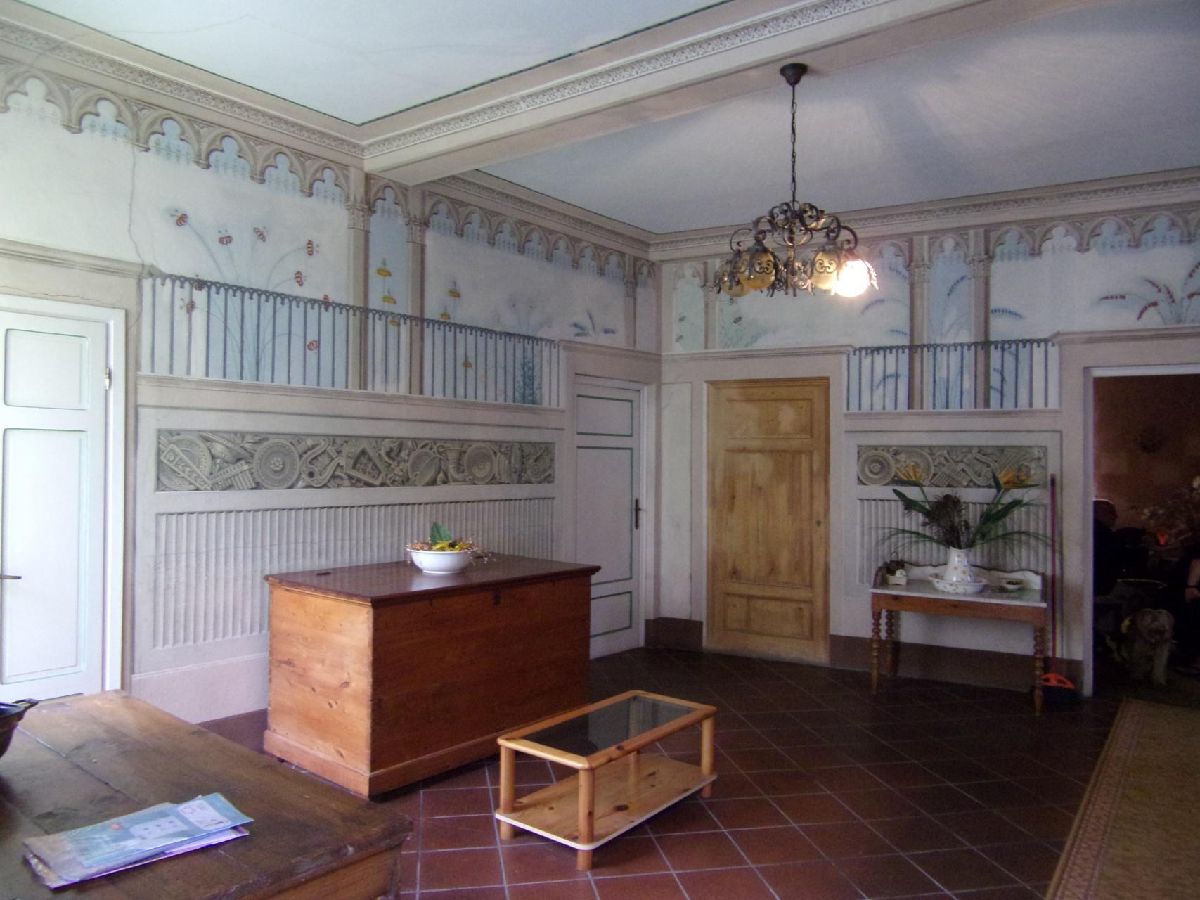 foto Grande appartamento con terrazza, parte di un dimora storica a Bagni di Lucca, Toscana