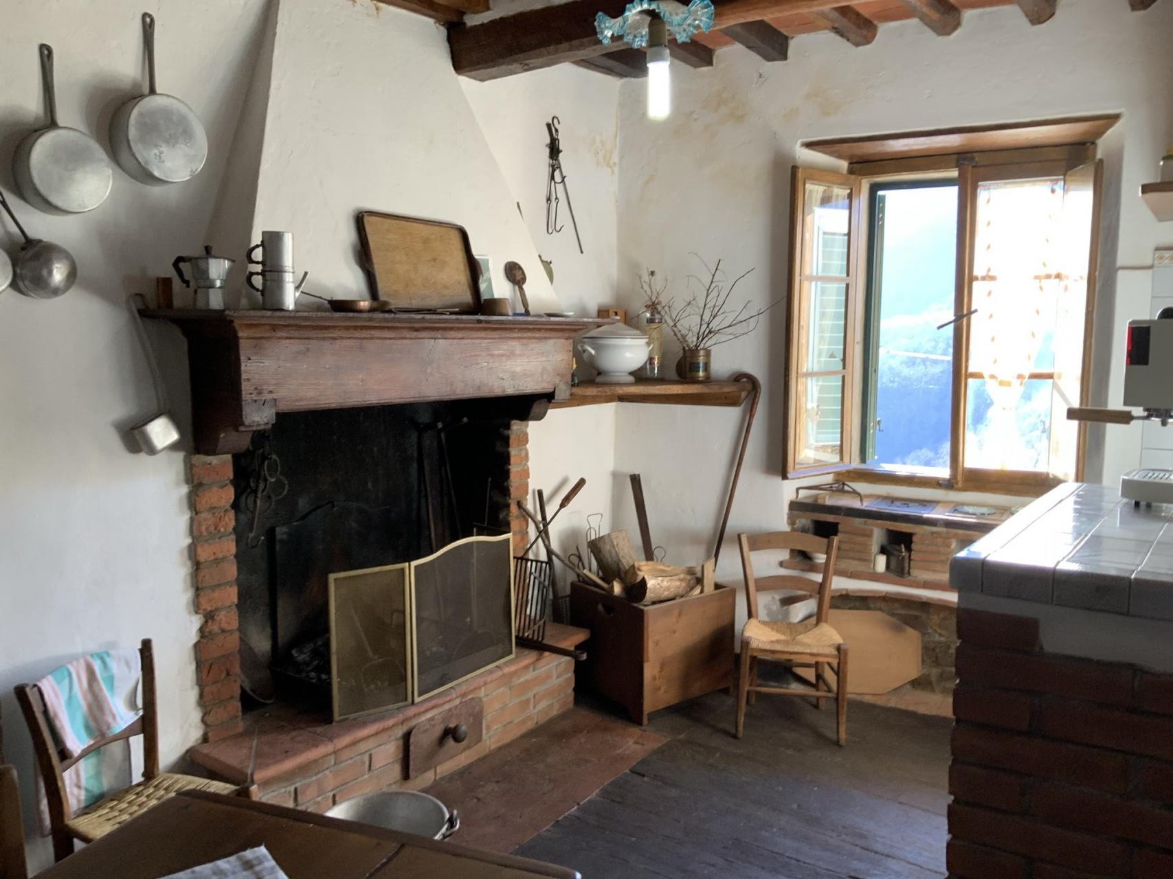 foto Abitazione rustica nel paese di Trassilico, Lucca, Toscana