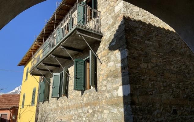 Casa di paese in stile rustico