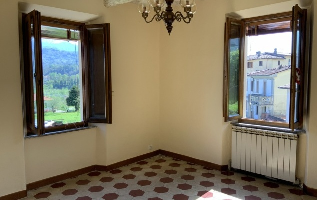 Part of a period villa in village of Bolognana, Lucca